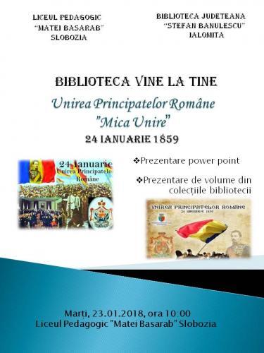 Unirea Principatelor Române  -